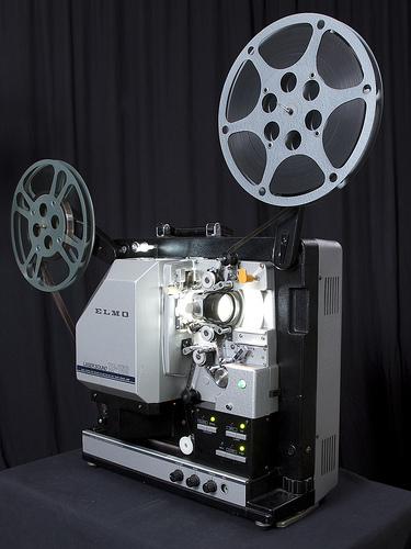 The Reel Image Elmo 16mm Projectors